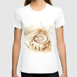 Coffee Latte T-shirt