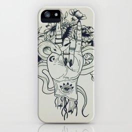 Grunge life iPhone Case