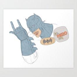 Batdude Art Print