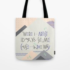 Haikuglyphics - Landscape Tote Bag