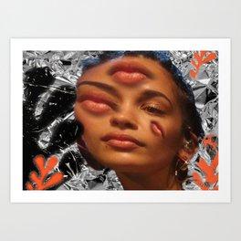 Jorja On My Mind Art Print