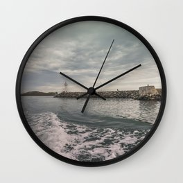 Boat trip in Howth, Ireland Wall Clock