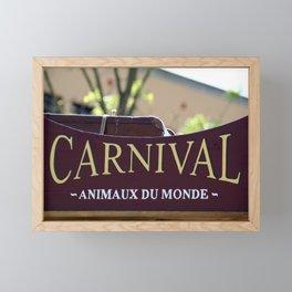 Animaux Framed Mini Art Print