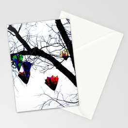 Raining Color Stationery Cards