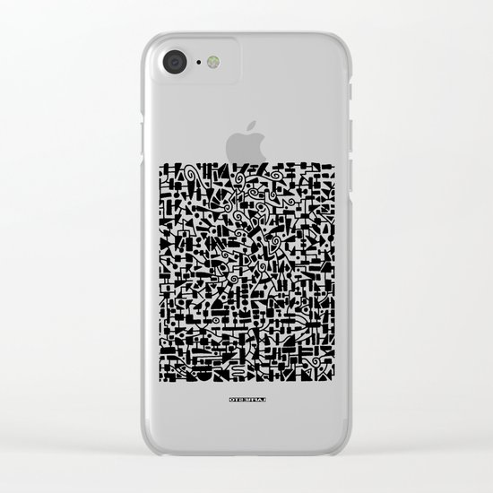 - micro - Clear iPhone Case