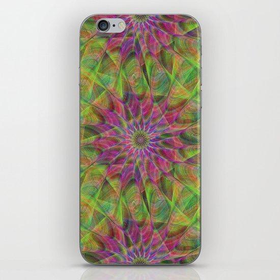 Fractal pattern iPhone & iPod Skin