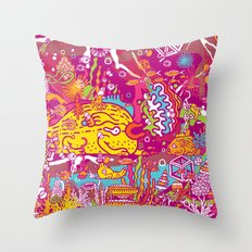 Giant Mudskipper Throw Pillow