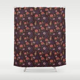 Vintage Peony Shower Curtain