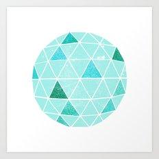 Geodesic 6 Art Print