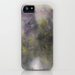 Abstract watercolor #39 - Magic lucid dreams - Abstract watercolour painting iPhone Case