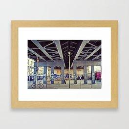 Berlin Bridge Framed Art Print