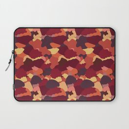 Camouflage in Fall Laptop Sleeve