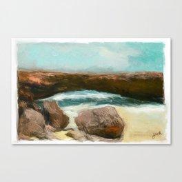 Aruba Natural Bridge Canvas Print