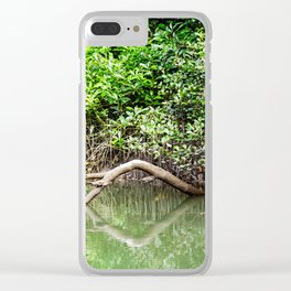 Daintree Rainforest- Reflection Clear iPhone Case