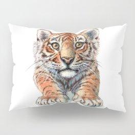 Playful Tiger Cub 907 Pillow Sham