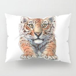 Playful Tiger Cub 907 Pillow Sham