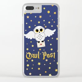 Owl Post - Borderless Clear iPhone Case