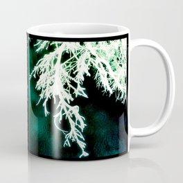 London Winter Storm 5c 2b - Green Coffee Mug