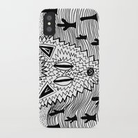 coyote iPhone & iPod Cases featuring Coyote by Catolyn