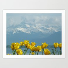 Montreux, Switzerland Art Print
