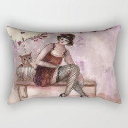 Tango Porteño Rectangular Pillow