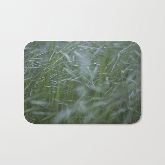 Grass abstract Bath Mat
