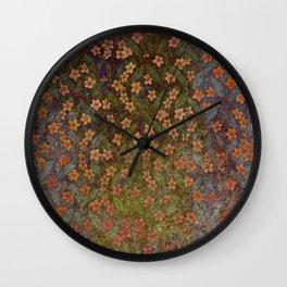 Grenada Floral 2 Wall Clock