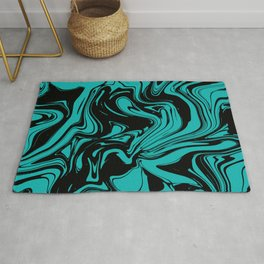 Lucid Mint Ink Rug