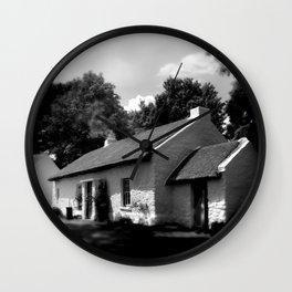 Irish Cottage Wall Clock