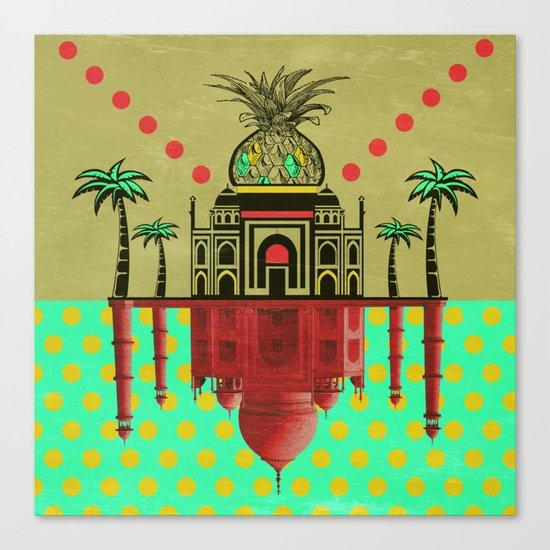 pineapple architecture 2 Canvas Print