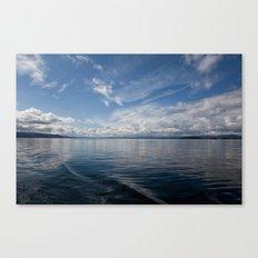 Infinite: Oslo Harbor Canvas Print