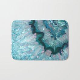 Teal Crystal Bath Mat