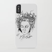 laura palmer iPhone & iPod Cases featuring Laura Palmer by Paula Benítez