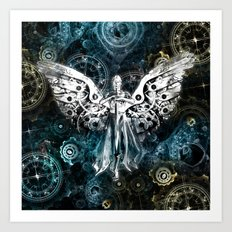 Clockwork Angel  Art Print