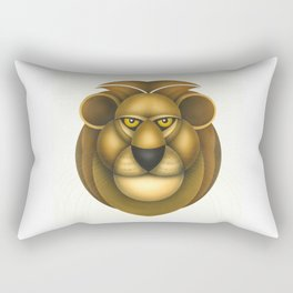 Compasses-lion Rectangular Pillow