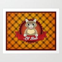 lil bub Art Prints featuring Lil Bub by memetronic