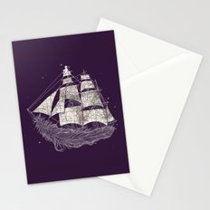 Wherever the wind blows Stationery Cards