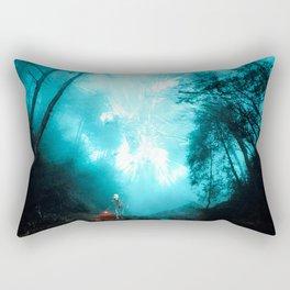 The dark side of the mirror Rectangular Pillow