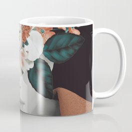 WOMAN WITH FLOWERS 7 Coffee Mug