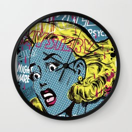 THRILLING MYSTERY Wall Clock
