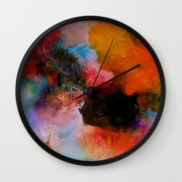 Somewhere in yourself Wall Clock