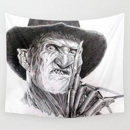 Freddy krueger nightmare on elm street Wall Tapestry