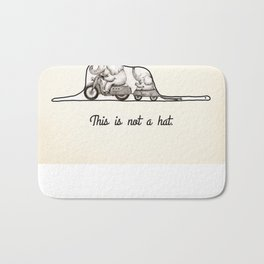 This is not a hat Bath Mat