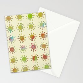 DP038-4 grungy critter Stationery Cards