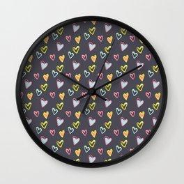 Rosewall love Wall Clock