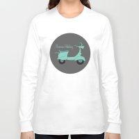 roman Long Sleeve T-shirts featuring Roman Holiday by Halamo Designs