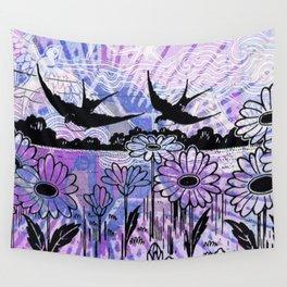 sky birds Wall Tapestry