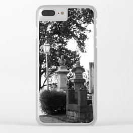 memorial street Clear iPhone Case