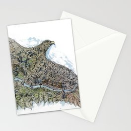 Gold eagle and Astana Stationery Cards