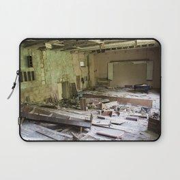 Abandoned school in ghost city Pripyat, Chernobyl, Ukraine. Laptop Sleeve